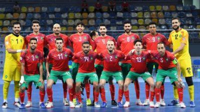 maroc equipe futsal